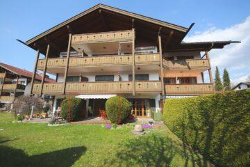 ***VERKAUFT*** Traumhaft gelegene 1,5-Zimmer-Wohnung mit Zugspitzblick!!, 82467 Garmisch-Partenkirchen, Erdgeschosswohnung